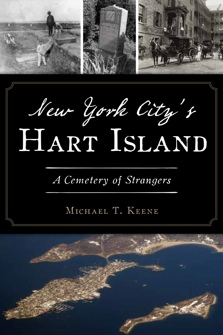 Hart Island Soft Cover Book Back